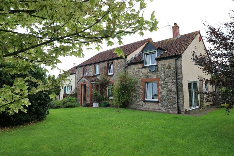5 Bedrooms Detached House for sale in North Row, Magor, Caldicot, NP26
