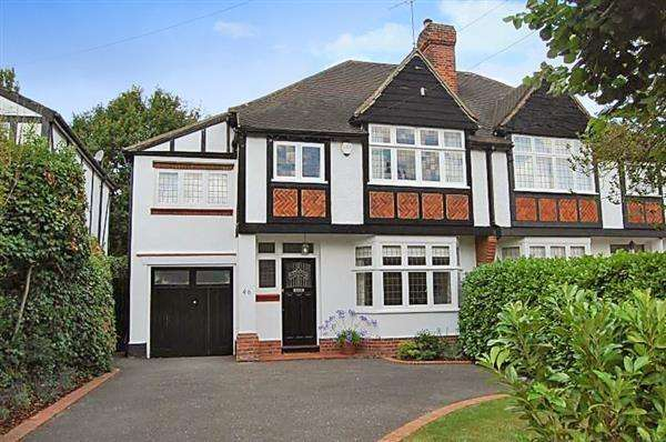 4 Bedrooms Semi Detached House for sale in Worrin Road, Shenfield, Brentwood, CM15