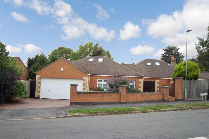 3 Bedrooms Detached Bungalow for sale in Hill Rise, Burbage, Hinckley