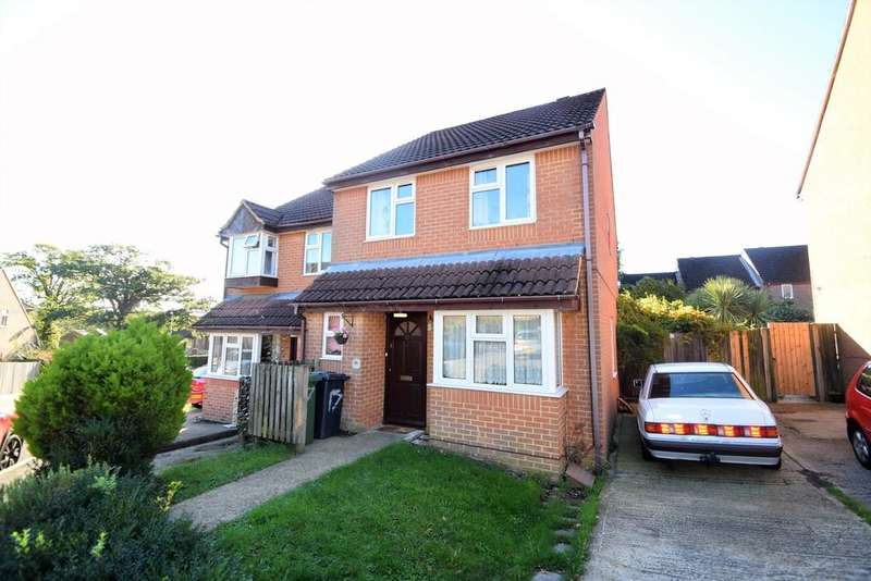 3 Bedrooms Semi Detached House for sale in Sycamore Close, Bursledon