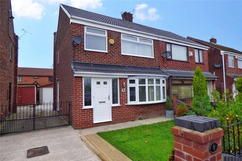 3 Bedrooms Semi Detached House for sale in Birch Avenue, Failsworth, Manchester, M35