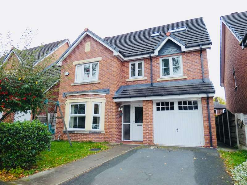 6 Bedrooms Detached House for sale in Greenwood Place, Manchester, Greater Manchester, M30