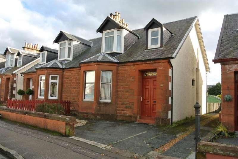 3 Bedrooms Semi Detached House for sale in 13 Campbell Street, DARVEL, KA17 0BZ