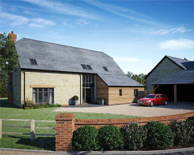 4 Bedrooms Detached House for sale in White Horse View, Silver Street, Fernham, Oxfordshire, SN7
