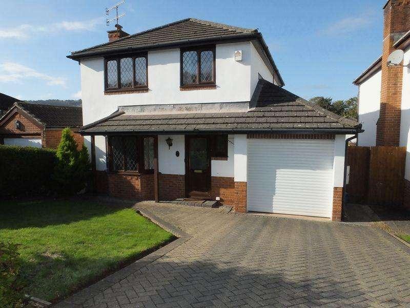 4 Bedrooms Detached House for sale in Plas Derwen View, Abergavenny