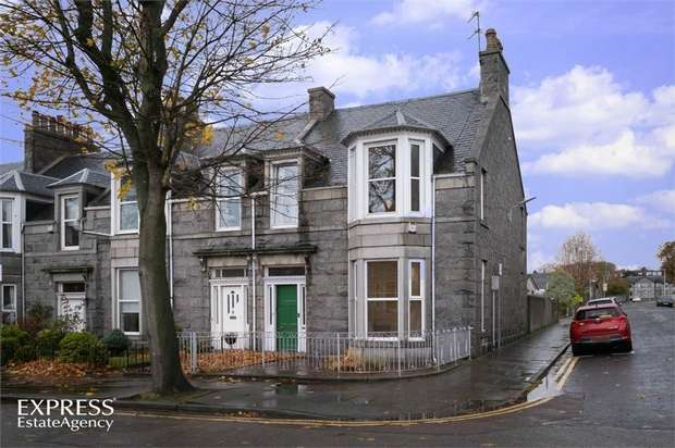 3 Bedrooms End Of Terrace House for sale in Beechgrove Avenue, Aberdeen