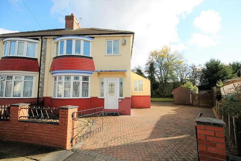 3 Bedrooms Semi Detached House for sale in Clifton Avenue, Stockton-On-Tees