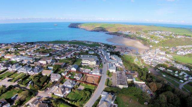 4 Bedrooms House for sale in Building Plots at Polzeath, Dunders Hill, Polzeath