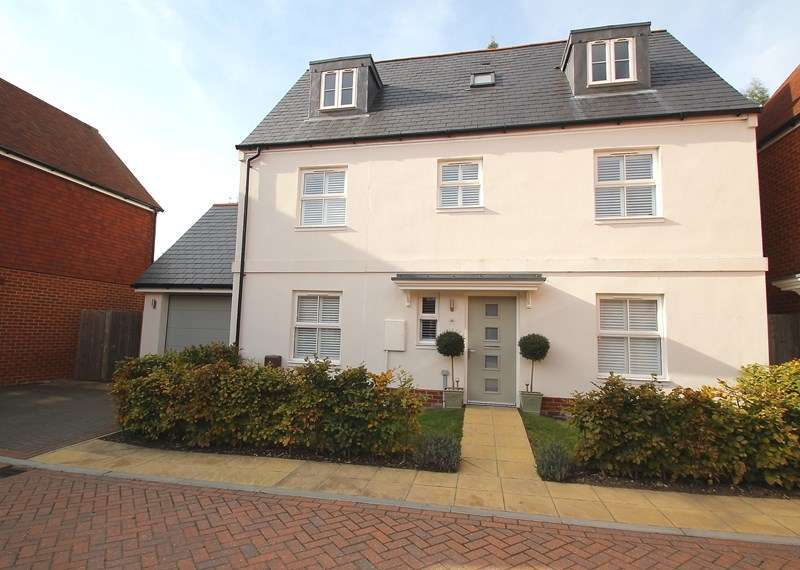 4 Bedrooms Detached House for sale in Samuel Mortimer Close, Catisfield, Fareham