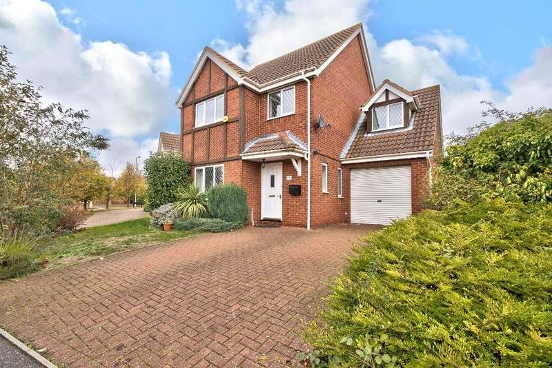 4 Bedrooms Detached House for sale in Lindisfarne Priory, Bedford, MK41 0RE