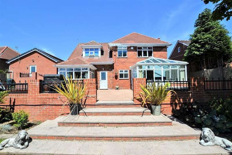 5 Bedrooms Detached House for sale in Common Road, South Kirkby, Pontefract, WF9 3EG