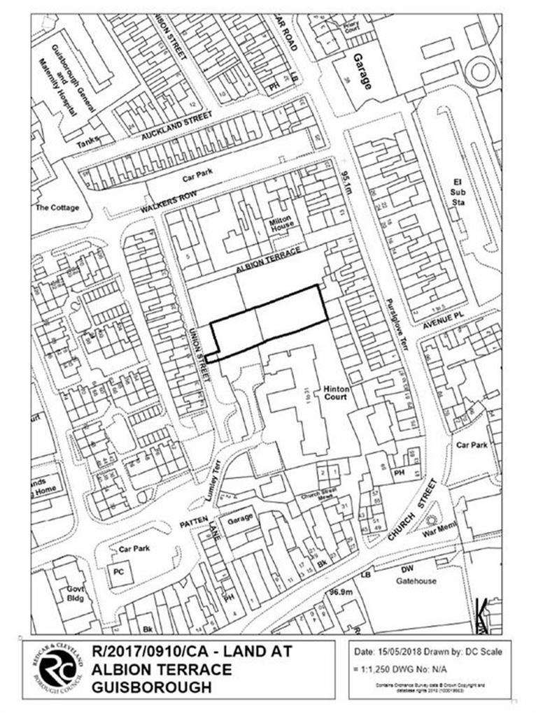 Land Commercial for sale in Albion Terrace, Guisborough