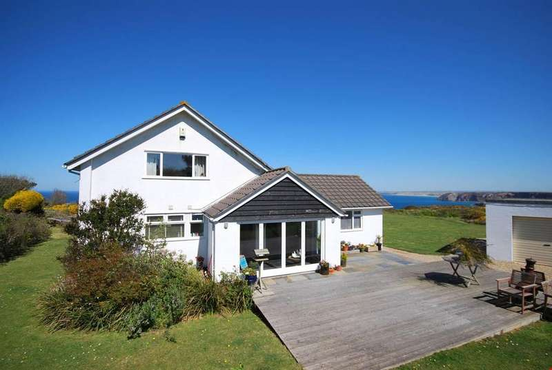 4 Bedrooms Detached House for sale in West Polberro, St Agnes, Cornwall