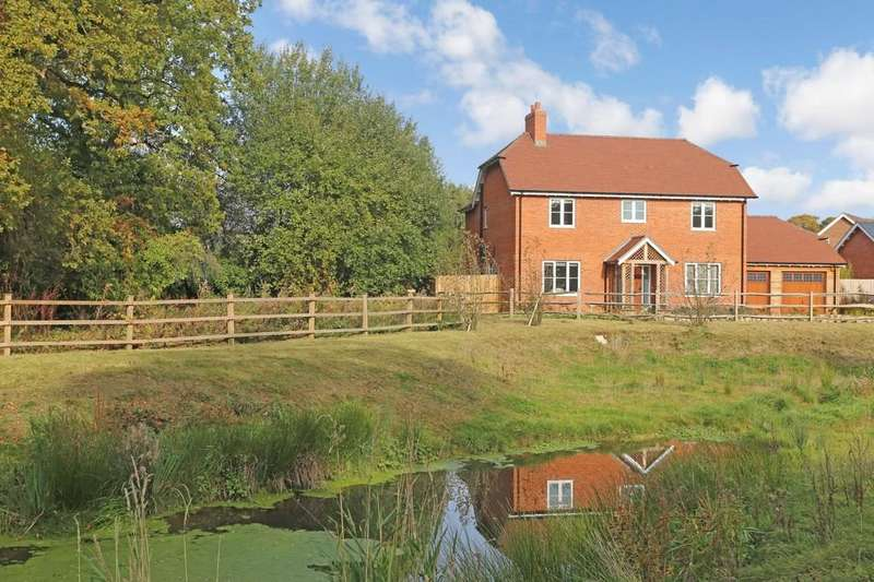 4 Bedrooms Detached House for sale in Upham, Hampshire