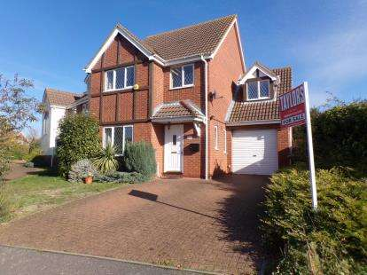 4 Bedrooms Detached House for sale in Lindisfarne Priory, Riverfield Drive, Bedford, Bedfordshire