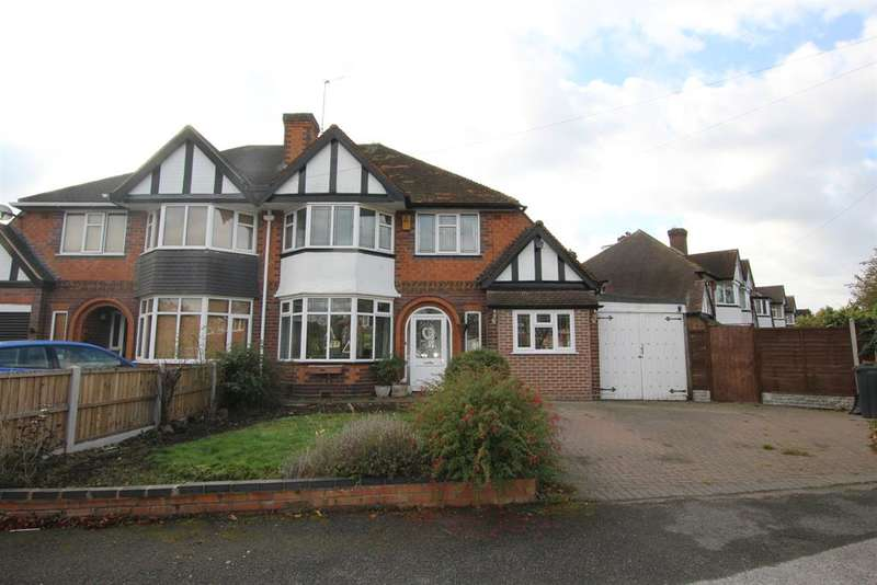 3 Bedrooms Semi Detached House for sale in Beeches Drive, Birmingham, B24 0DS