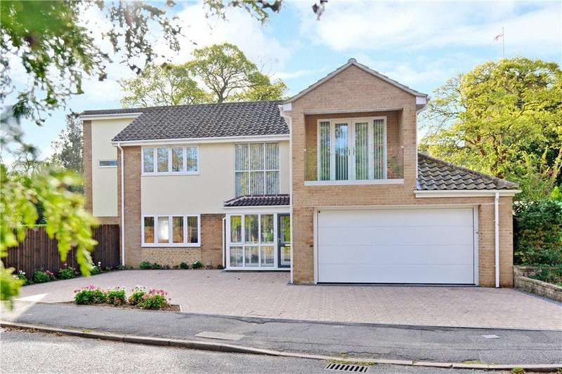 4 Bedrooms Detached House for sale in Spinney Drive, Collingtree, Northampton, Northamptonshire