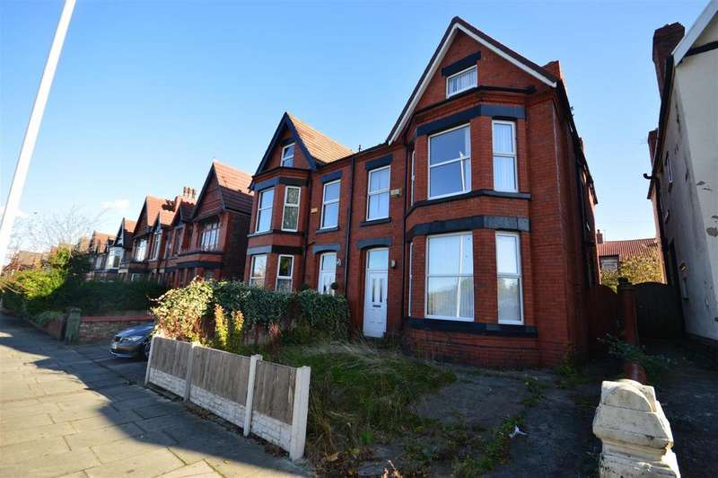 6 Bedrooms Semi Detached House for sale in Park Road East, Birkenhead
