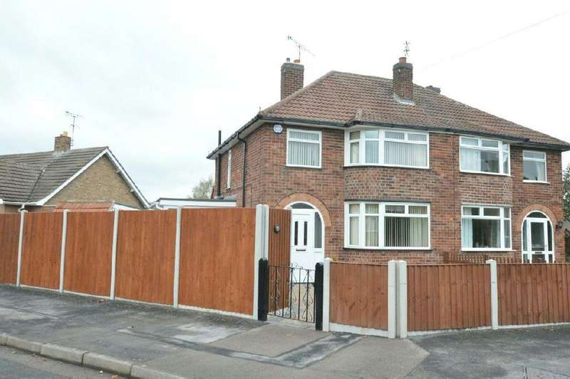 3 Bedrooms Semi Detached House for sale in Heybrook Avenue, Blaby, Leicester