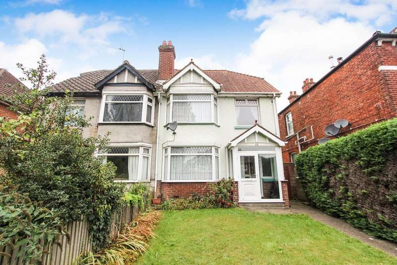 3 Bedrooms Semi Detached House for sale in High Road, Swaythling, Southampton, SO16