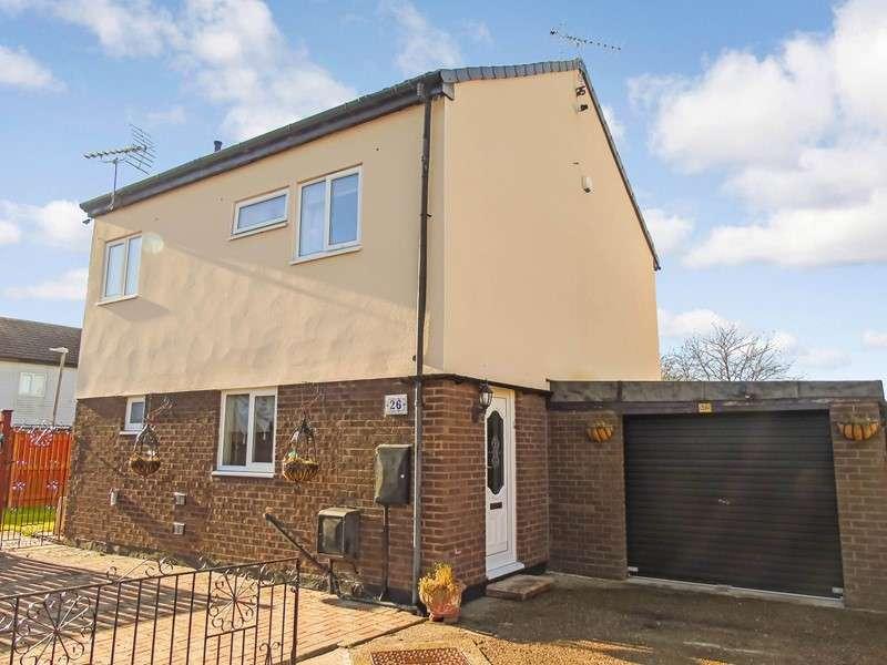4 Bedrooms Property for sale in Brecon Close, Peterlee, Peterlee, Durham, SR8 2JX