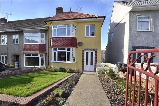 3 Bedrooms End Of Terrace House for sale in Crowther Road, Horfield, Bristol, BS7 9NS