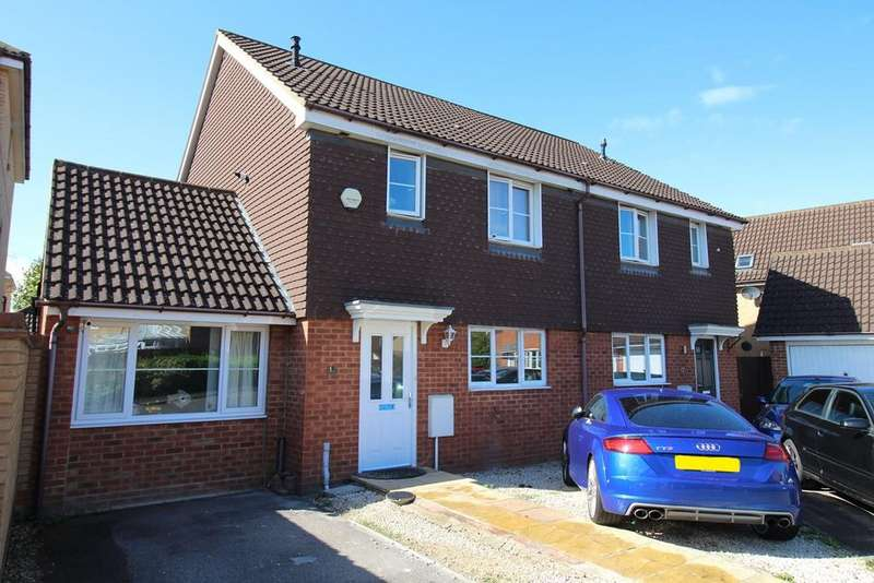 4 Bedrooms Semi Detached House for sale in Thistle Drive, Hatfield, AL10