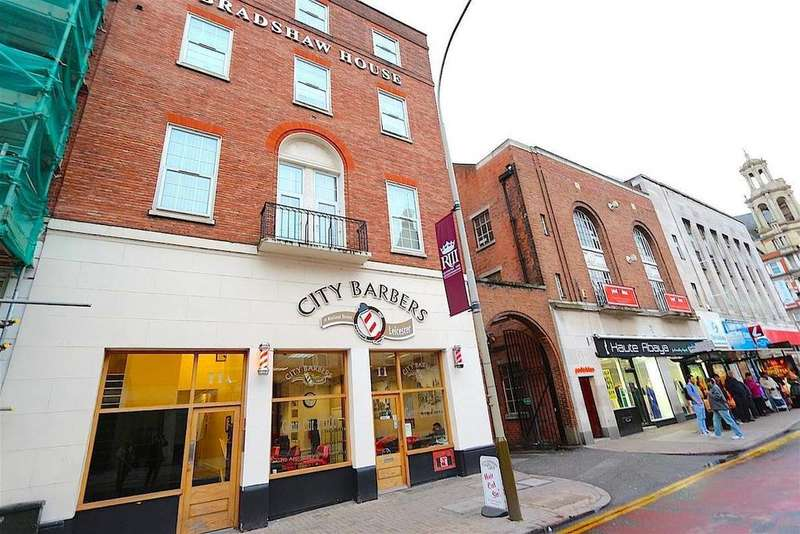 2 Bedrooms Apartment Flat for sale in Rutland Street, Leicester