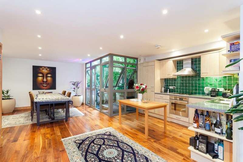 2 Bedrooms Maisonette Flat for sale in Sussex Way, Holloway, N19