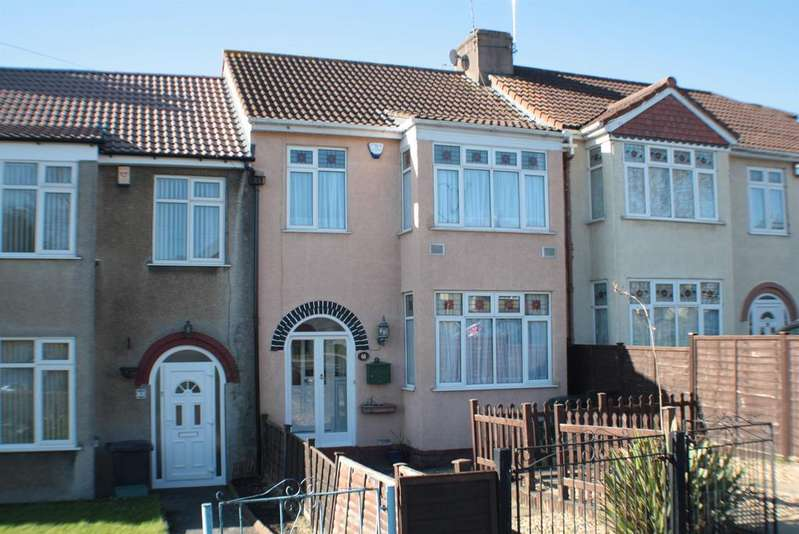 3 Bedrooms Terraced House for sale in King Georges Road, Bristol, BS13 8LU