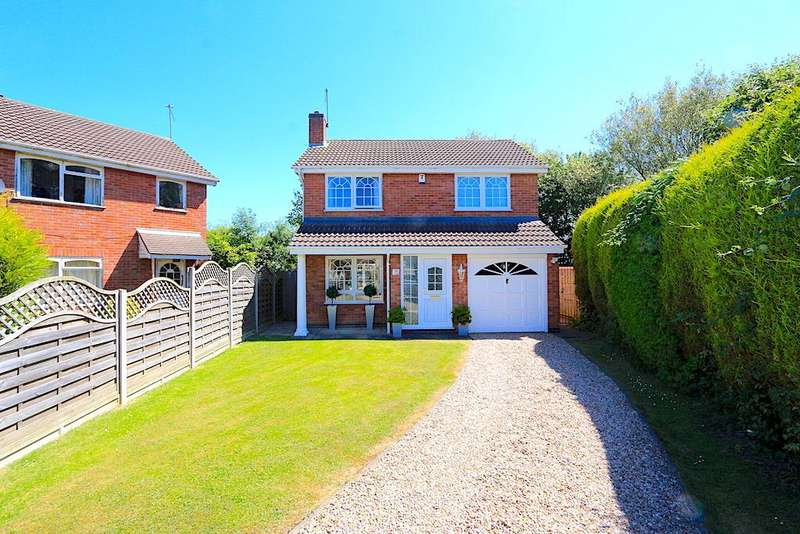 4 Bedrooms Detached House for sale in Hunters Way, Leicester Forest East