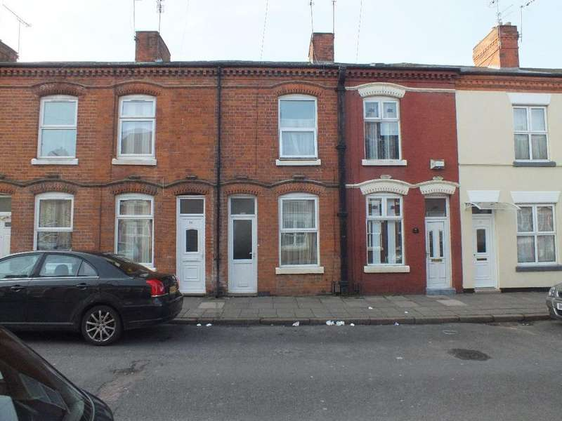 2 Bedrooms Terraced House for sale in Hart Road, Highfields, Leicester, LE5 3FX