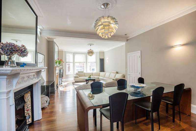 6 Bedrooms Terraced House for sale in Lyncroft Gardens, London, NW6