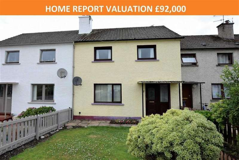 2 Bedrooms Terraced House for sale in MacRae Crescent, Dingwall, Ross-shire
