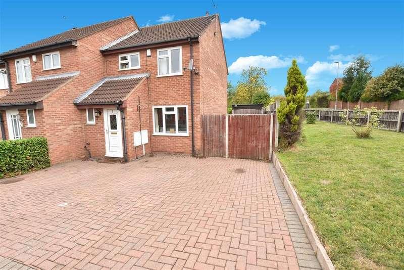 3 Bedrooms Semi Detached House for sale in De Montfort Close, Loughborough