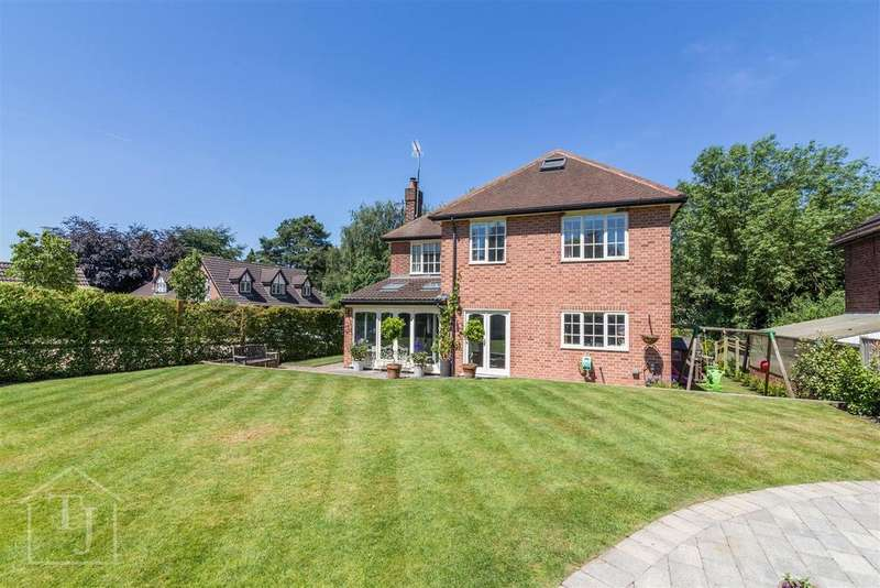 5 Bedrooms Detached House for sale in Wayside, Lambley Road, Lowdham, Nottingham