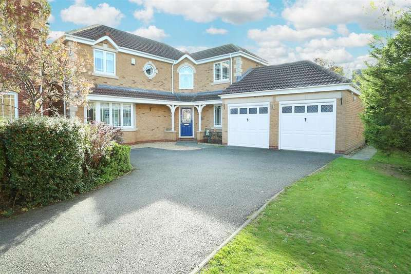 4 Bedrooms Detached House for sale in Fothergill Close, Off Ashley Way, Market Harborough