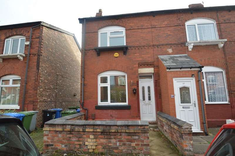2 Bedrooms End Of Terrace House for sale in Dudley Road, SALE, M33