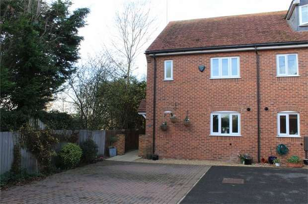 3 Bedrooms End Of Terrace House for sale in The Hawthorns, Main Street, Lubenham, Market Harborough, Leicestershire