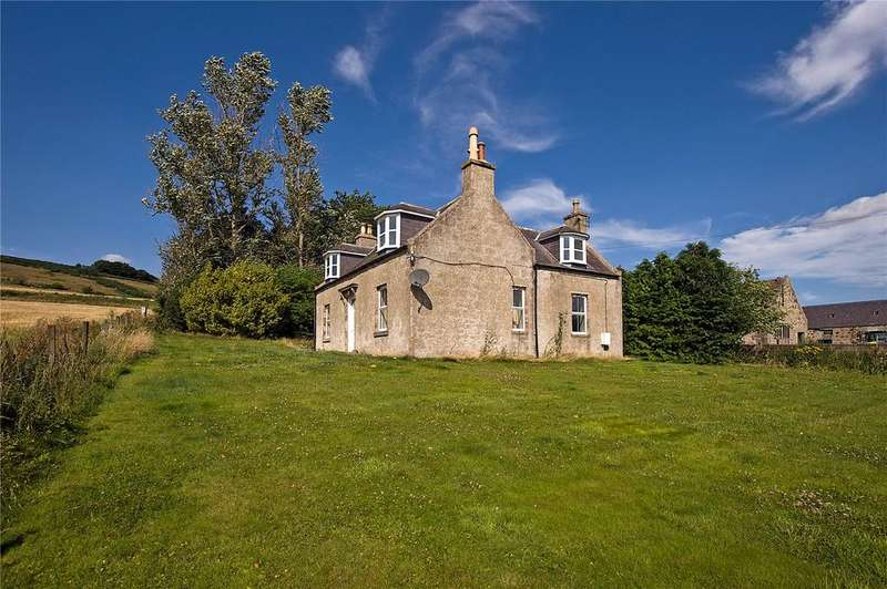 4 Bedrooms Detached House for sale in Old Balgowan Farmhouse, Keig, Alford, Aberdeenshire