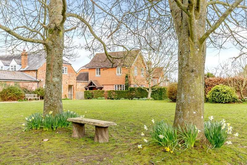 4 Bedrooms Semi Detached House for sale in Westridge Road, Highclere, Newbury, Berkshire