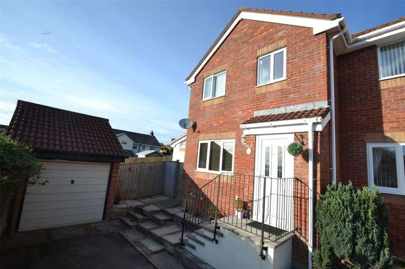 3 Bedrooms Semi Detached House for sale in Lane End Park, Barnstaple