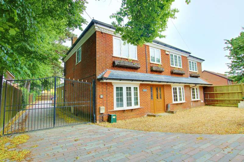 5 Bedrooms Detached House for sale in Hamble Lane, Bursledon