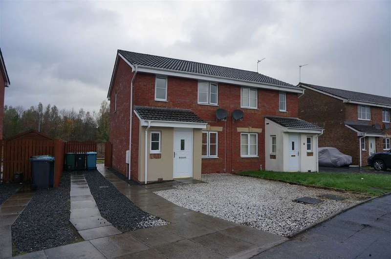 3 Bedrooms Semi Detached House for sale in Cherry Avenue, Cumbernauld
