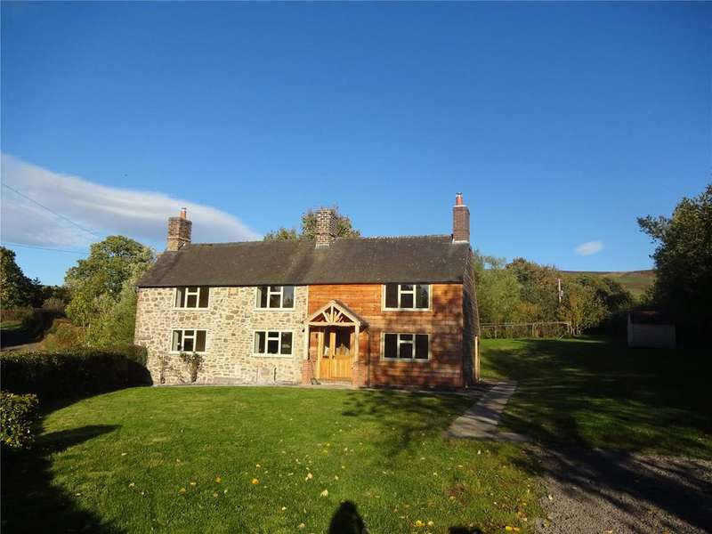 4 Bedrooms Equestrian Facility Character Property for sale in Wentnor, Bishops Castle, Shropshire
