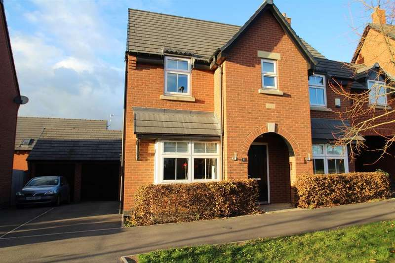 3 Bedrooms Link Detached House for sale in Saxon Drive, Rothley, Leicester