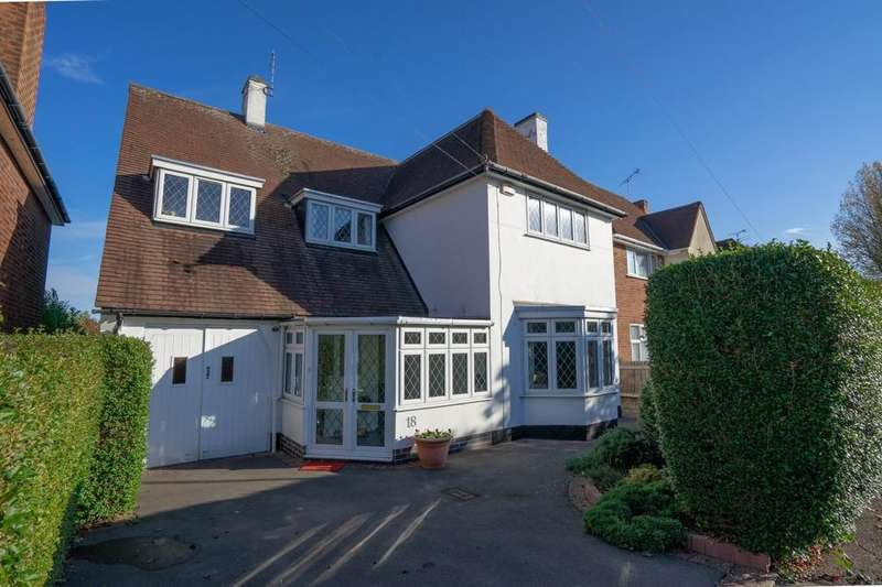 4 Bedrooms Detached House for sale in Withcote Avenue, Leicester