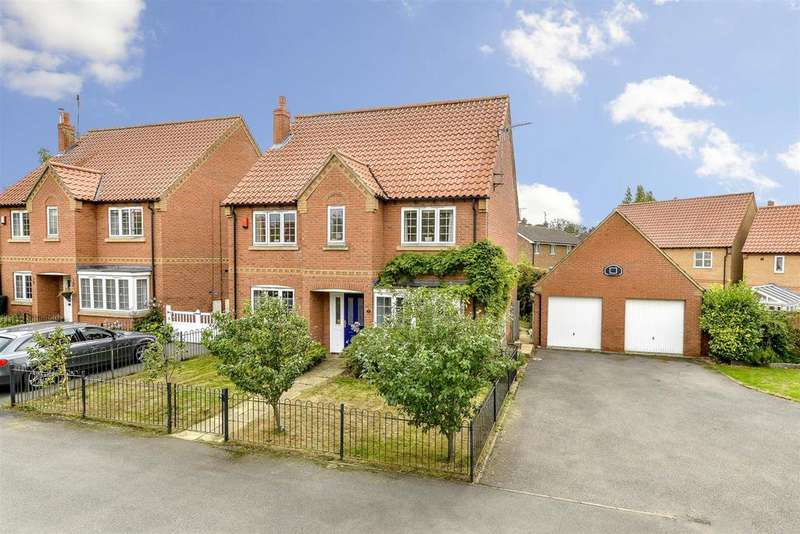 4 Bedrooms Detached House for sale in Pridmore Road, Corby Glen
