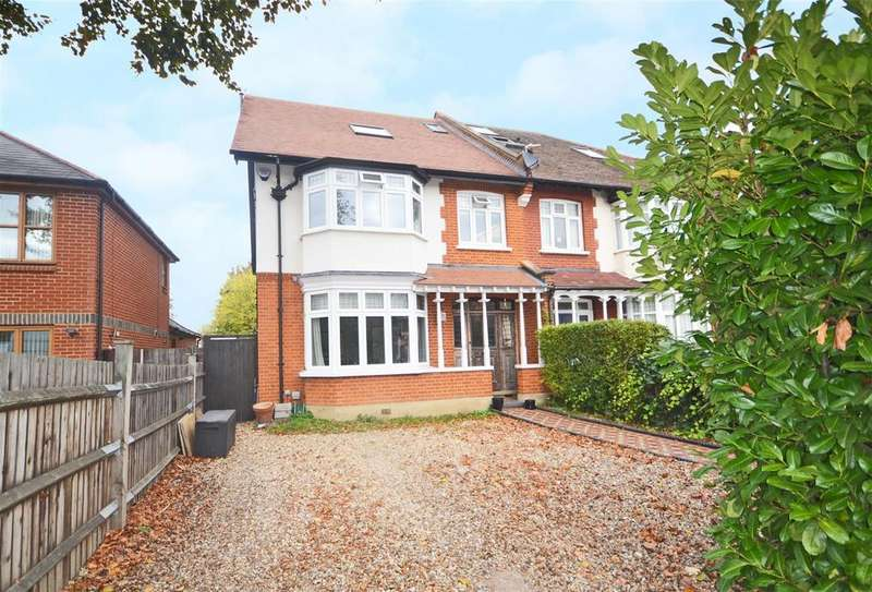 5 Bedrooms Semi Detached House for sale in St Marys Crescent, Osterley