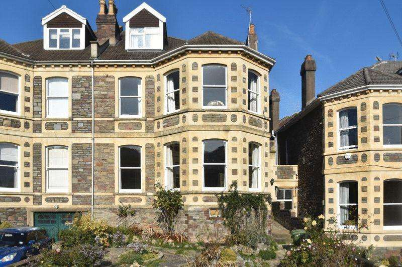 5 Bedrooms Semi Detached House for sale in Glentworth Road, Redland